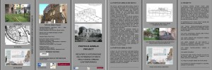 Fig 6: Porticus Aemilia Project: Brochure informativa